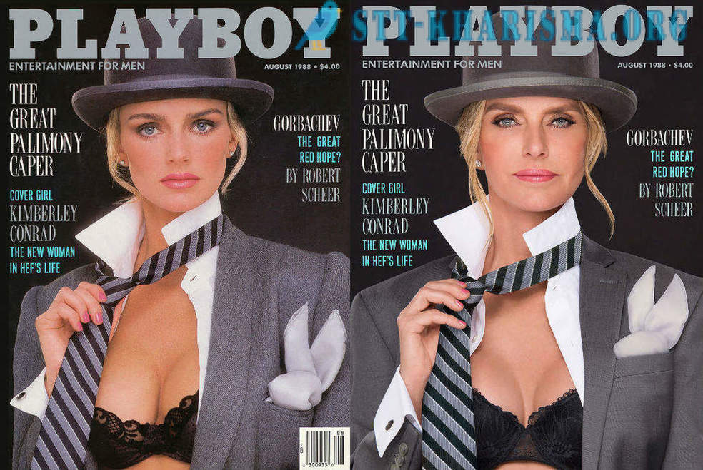 Playboy-Modell wieder auf ihrem Cover